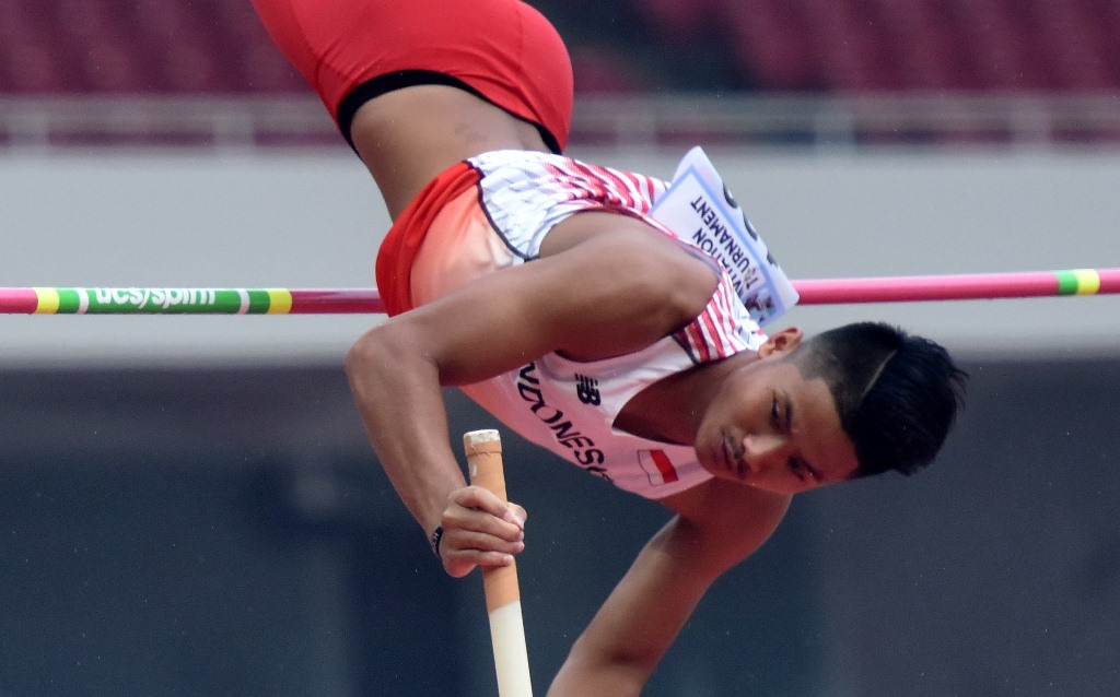 Bukan Medali, Inilah Target Atlet Lompat Galah Indonesia di Asian Games