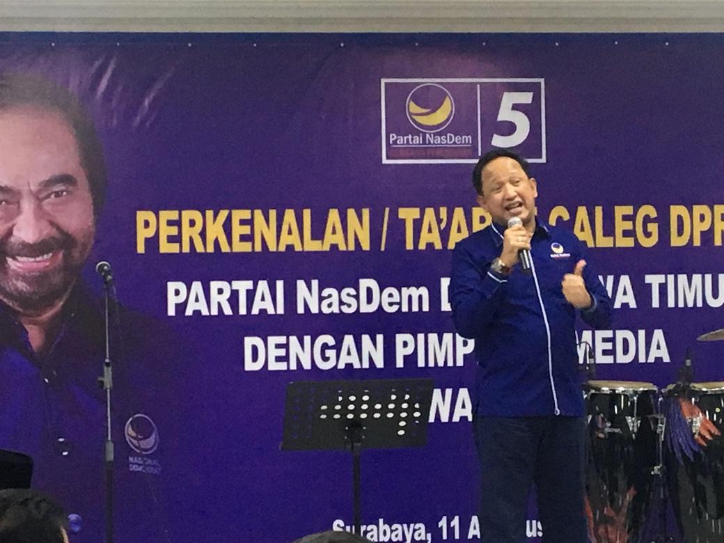 NasDem Perkenalkan 87 Bacaleg DPR RI Asal Jawa Timur