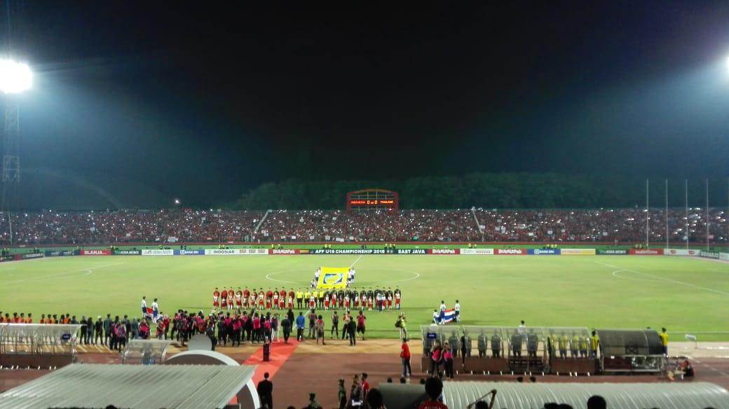 Babak I: Timnas U-16 Unggul atas Thailand
