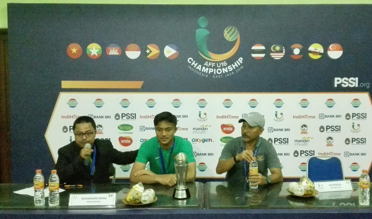 Kunci Sukses Timnas U-16 Menang Adu Penalti dari Thailand