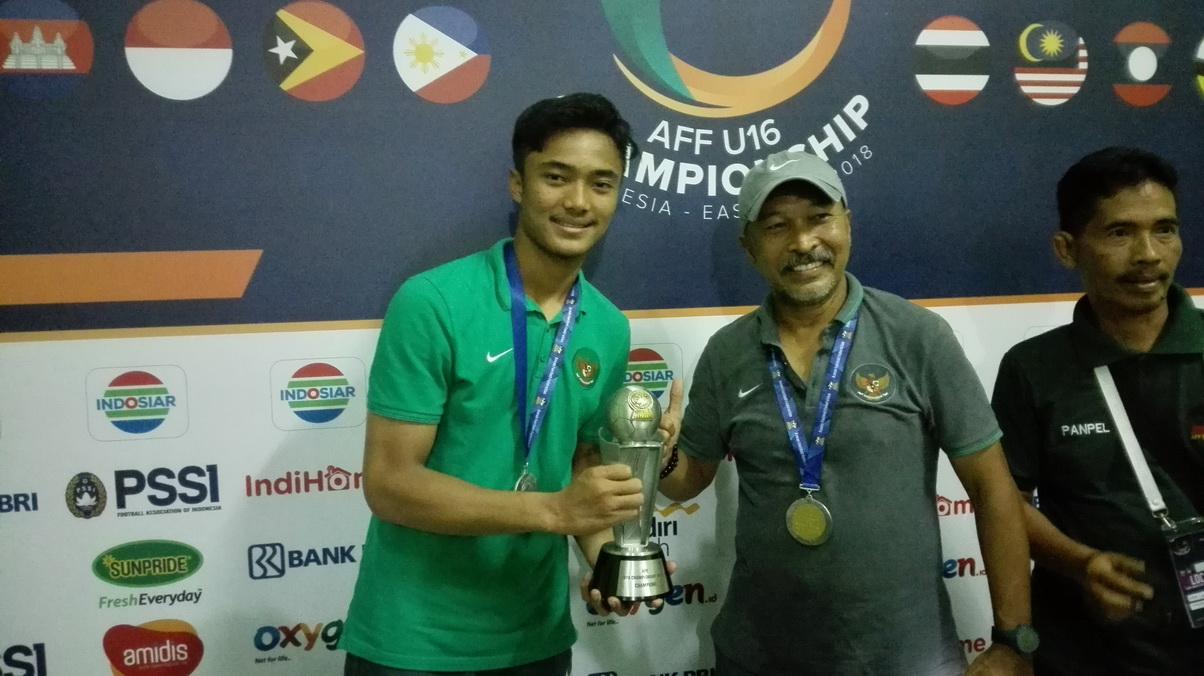 Komentar Ernando usai Menjadi Bintang di Final Piala AFF U-16