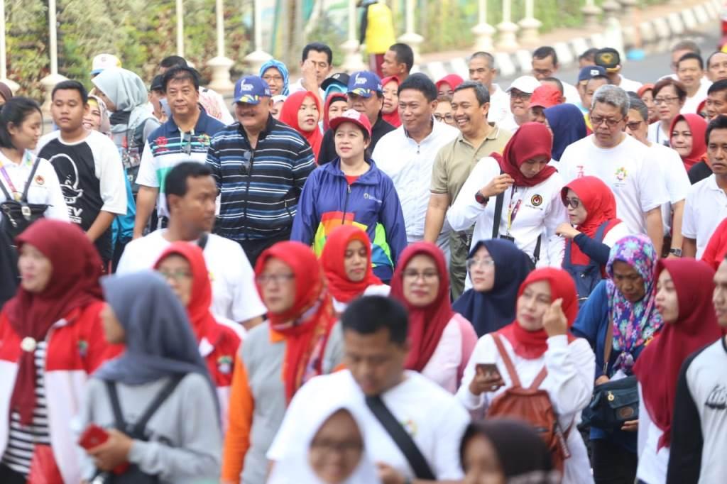 Menko Puan Minta Warga Palembang Ikut Sukseskan Asian Games 2018