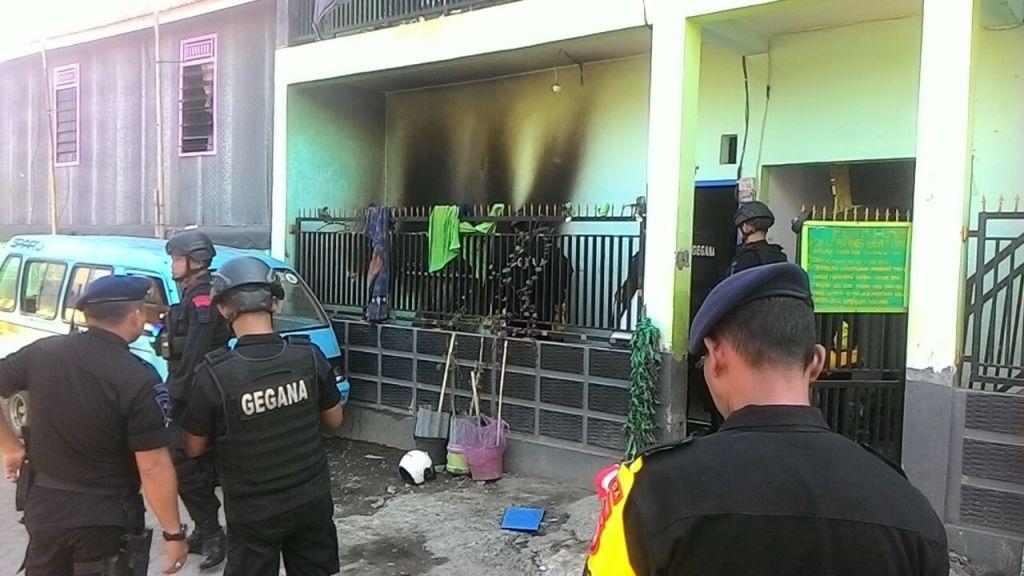 Sebuah Ledakan Melukai Penghuni Indekos di Makassar