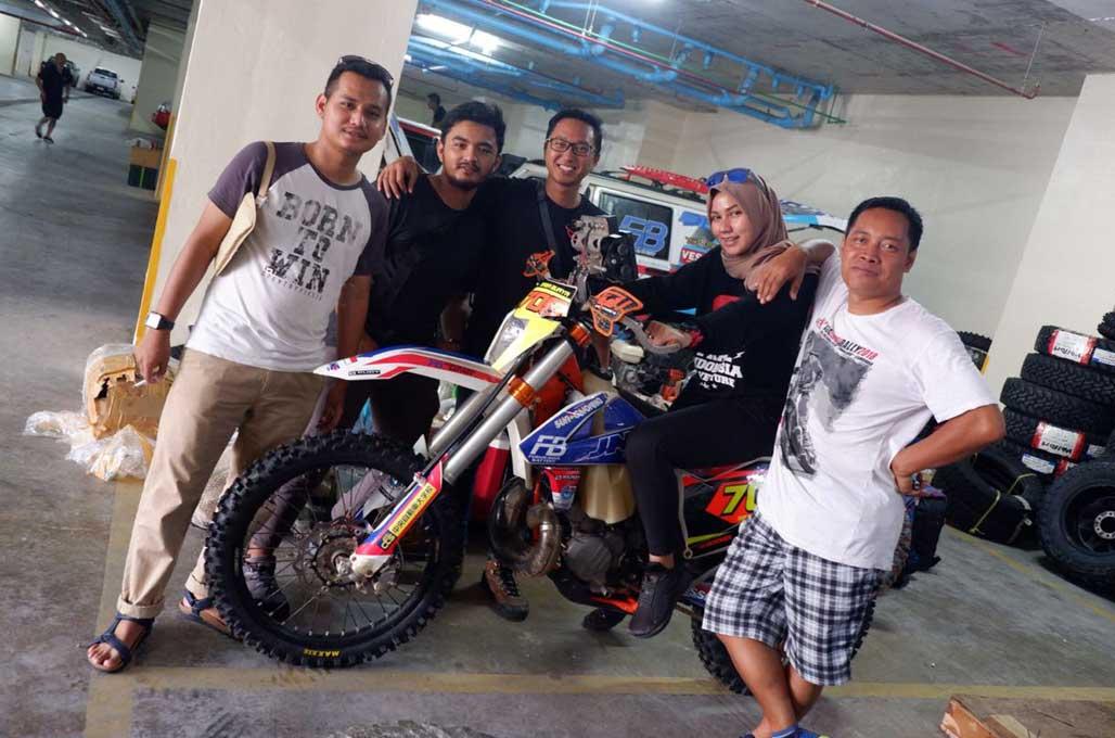 Tim Indonesia Siap Tarung ke AXCR 2018