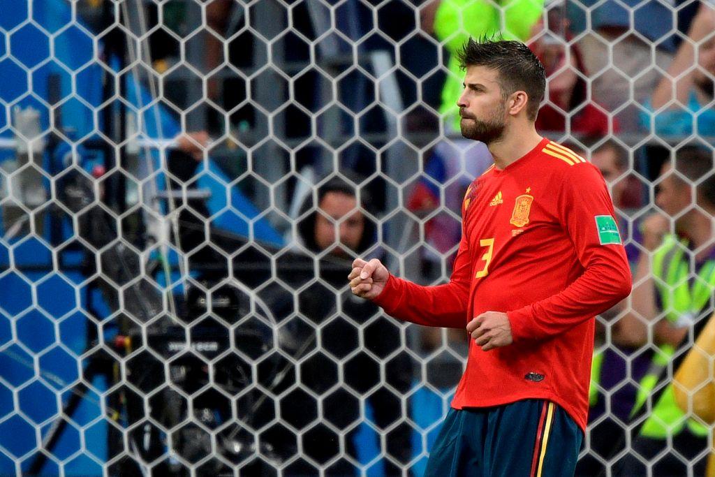 Pique Pensiun dari Timnas Spanyol