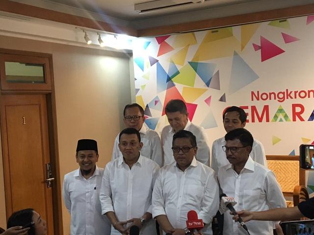 Penyusunan Tim Kampanye Jokowi-Ma'Ruf Rampung