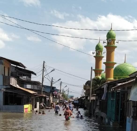 9.254 Rumah di Belawan Terendam Banjir Rob