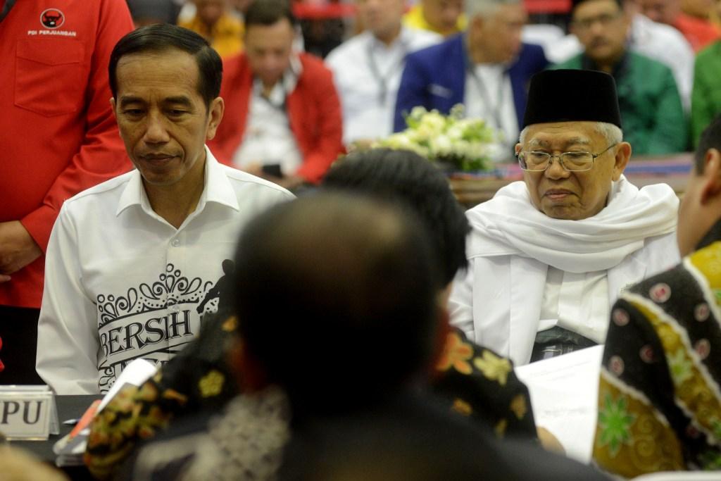 Jokowi akan Bahas Pengesahan Timses