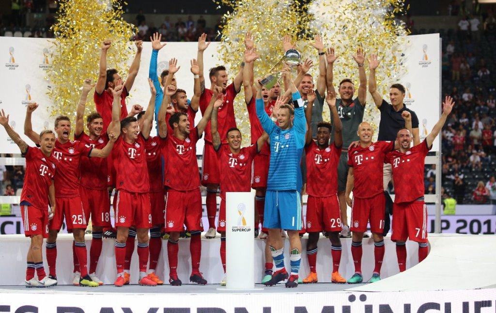 Bantai Frankfurt, Bayern Muenchen Raih Trofi Piala Super Jerman