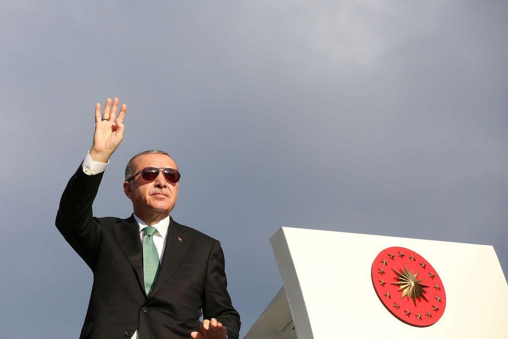 Erdogan tidak Gentar Hadapi AS