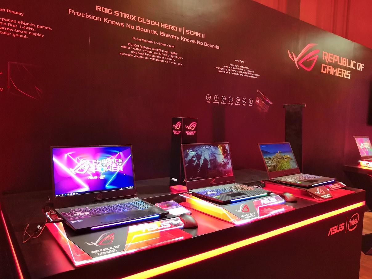 ASUS ROG Strix Scar II, Laptop Game FPS Jagoan ASUS