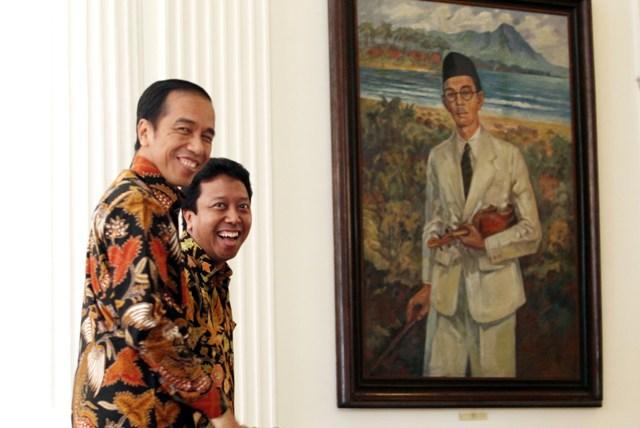 Romy Blak-Blakan Ungkap Proses Pemilihan Cawapres Jokowi