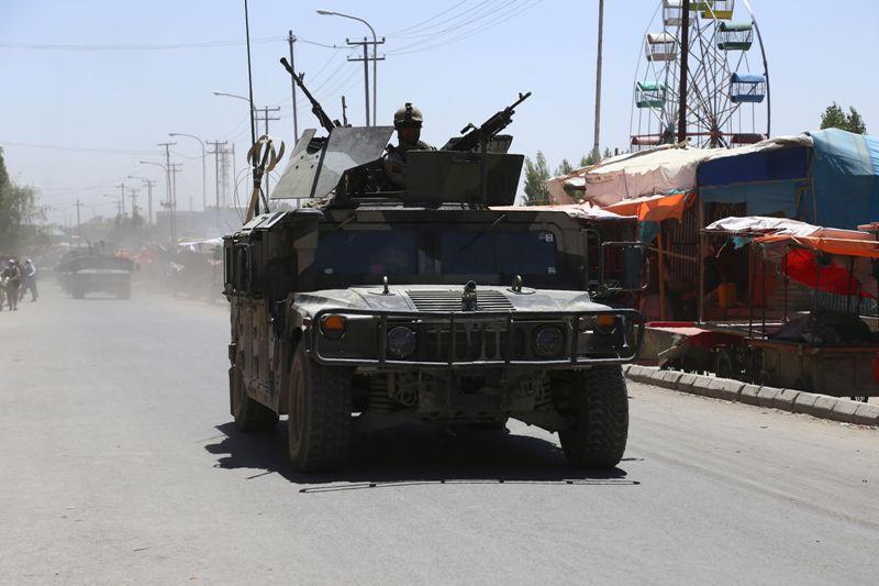 Pusat Intelijen Afghanistan Diserang Kelompok Bersenjata
