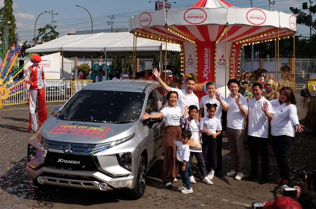 Xpander Tons of Real Happiness, Cara Mitsubishi Rayakan Hari Kemerdekaan