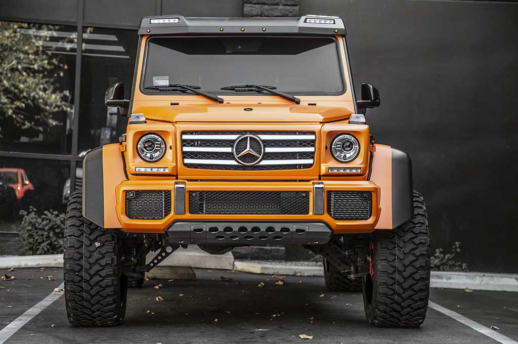 Mercedes-Benz G550 4x4 Tampil Lebih Lebar dan Segar
