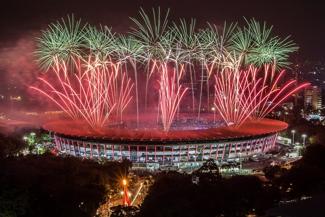 Gubernur Prefektur Aichi Kagum dengan Pembukaan Asian Games