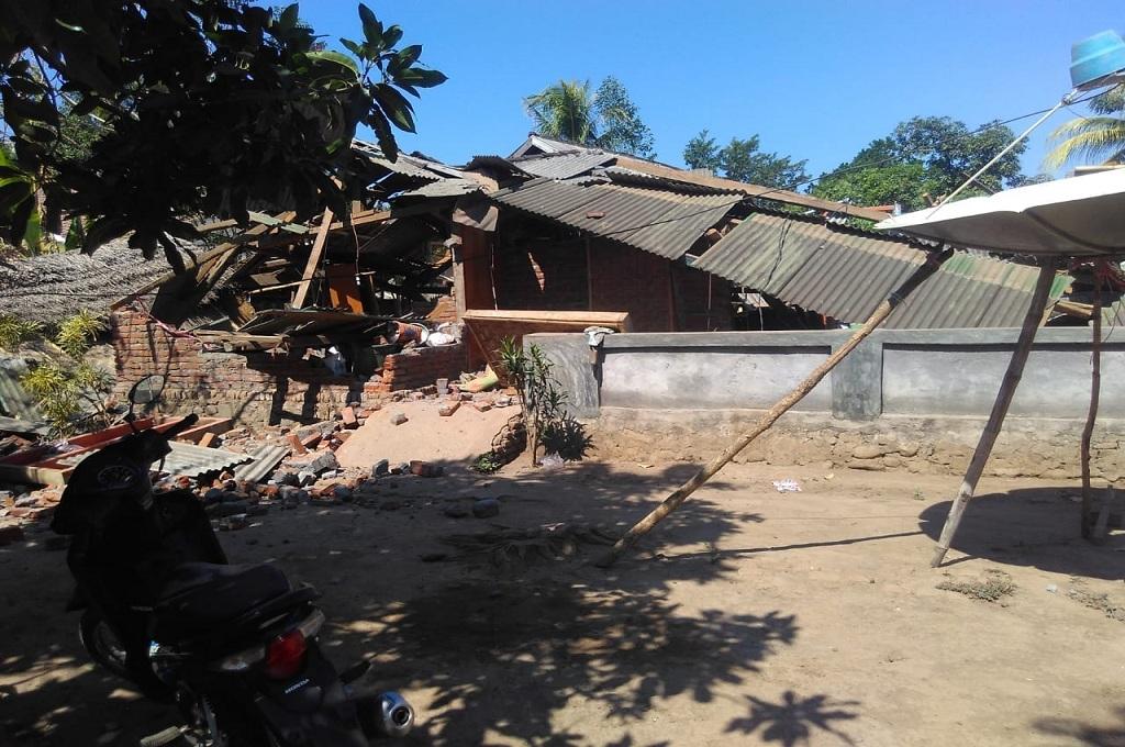 Korban Gempa di Mataram Jadi 13 Orang