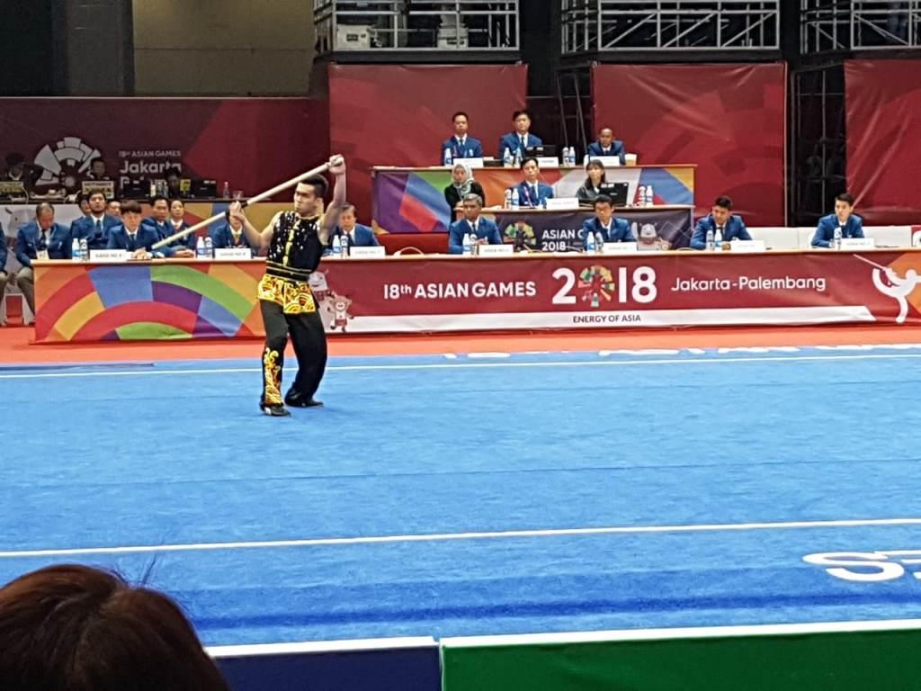 Atlet Wushu Indonesia Harris Horatius Gagal Sumbang Medali