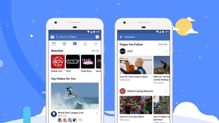 Facebook Rilis Layanan Watch untuk Global