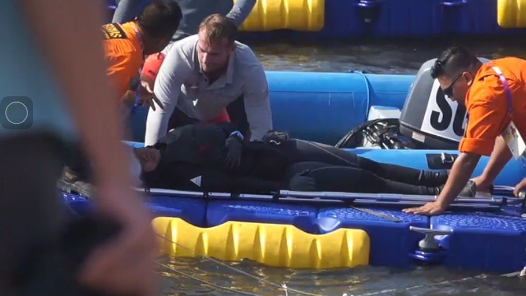 Tertimpa Perahu, Atlet Layar Indonesia Dilarikan ke Rumah Sakit
