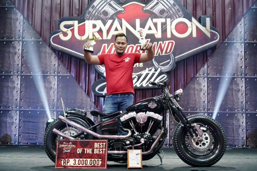 Bobber Berbasis Harley-Davidson Dyna 2005 dari Makassar