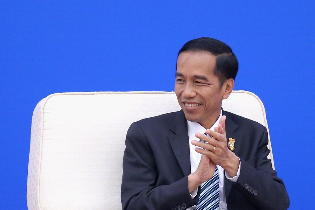 Jokowi Meets 4 South Korean Business Leaders