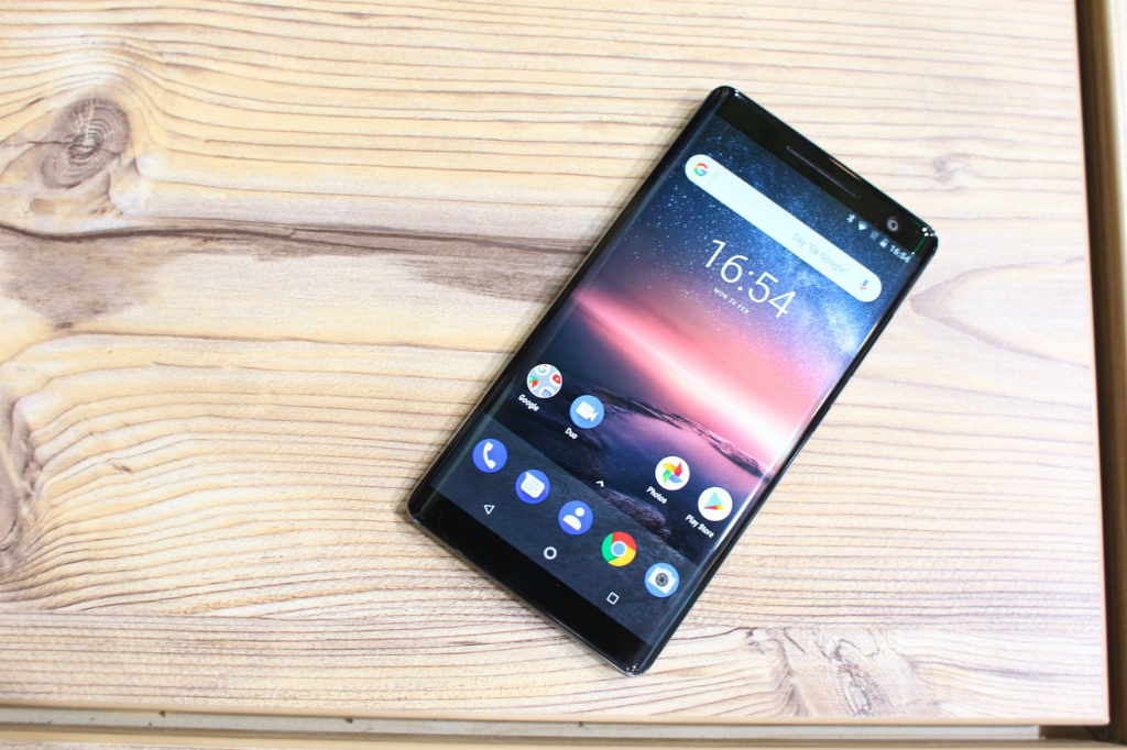 Android 9.0 Pie Nokia 8 Sirocco Pasang ARCore?