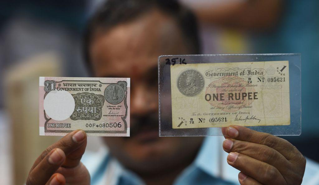 Rupee India Jatuh ke Titik Terendah