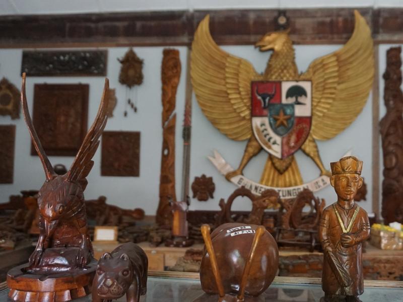 Nasionalisme di Museum Ukir Sasono Adhi Praceko