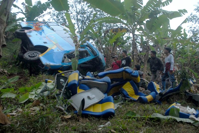 Kesehatan Kondektur Bus Kecelakaan Maut di Sukabumi Membaik