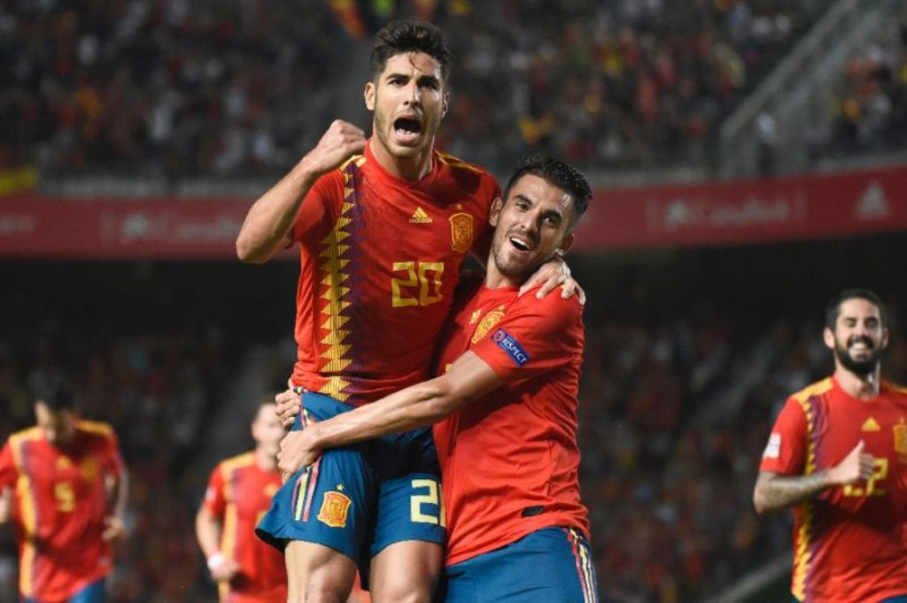 Spanyol Permak Kroasia di UEFA Nations League