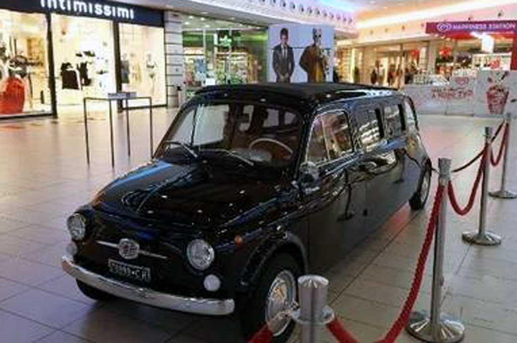 Kala Fiat 500D 1964 Klasik jadi Limusin