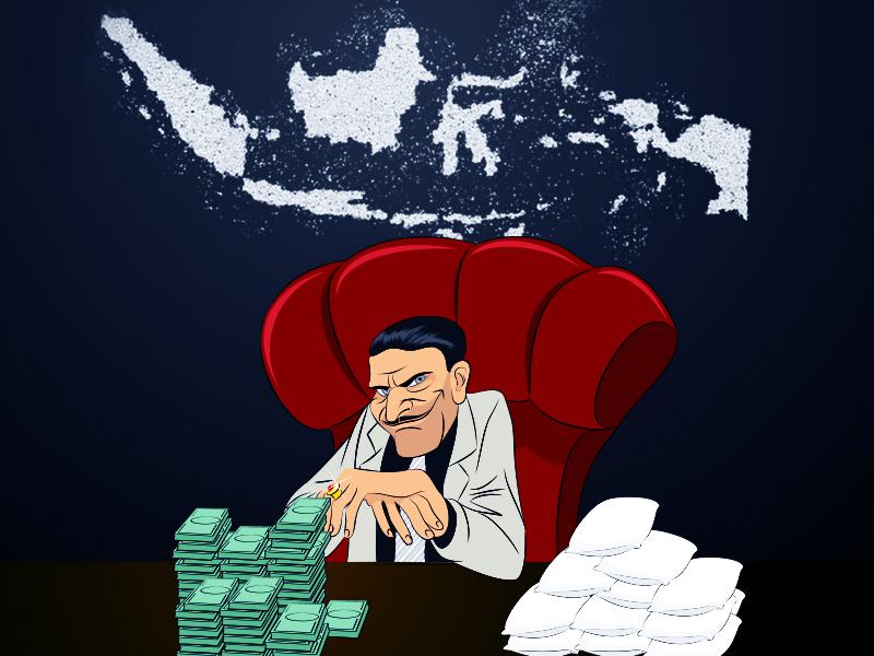 Napi Pasok Sabu ke Rental Alat Isap di Tasikmalaya