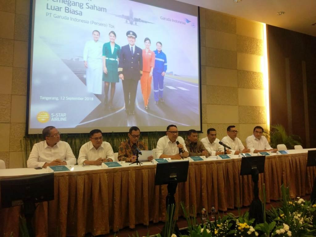 Berikut Jajaran Direksi Baru Garuda Indonesia