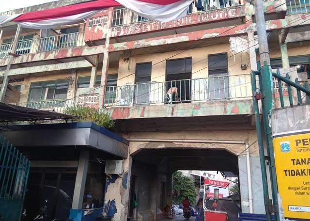 Di sini kampung susun Jakarta akan dibangun