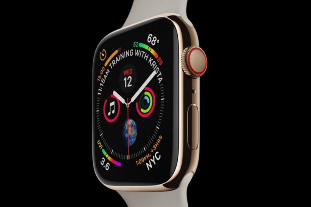 Apple Watch Seri 4 Muncul