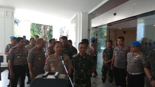 TNI/Polri Mulai Intens Bahas Pengamanan Pemilu