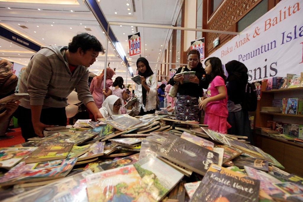 Indonesia Memiliki Potensi Besar di Industri Perbukuan