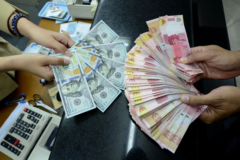 Rupiah Berada di Rp14.840/USD