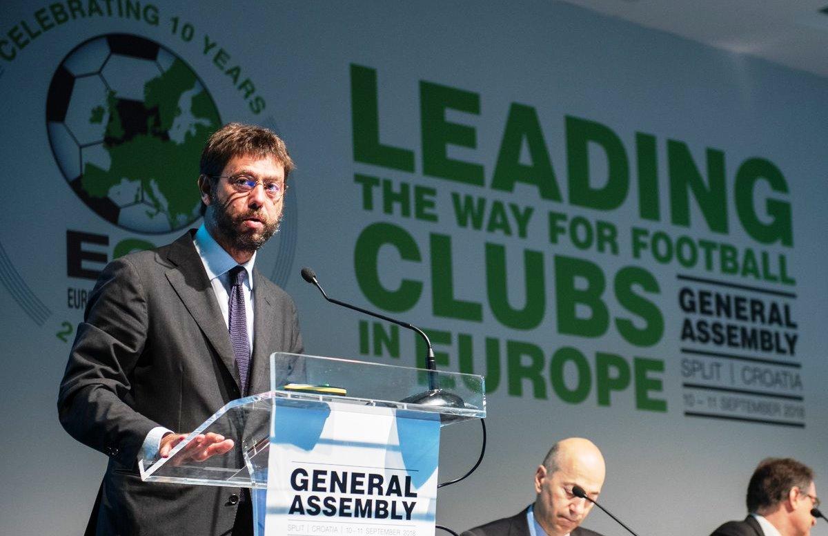 Wacana Petinggi Juventus Membuat Kompetisi Baru Liga Eropa Ditentang