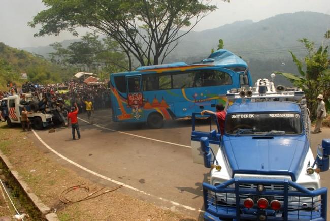 Sopir Tembak Bus Maut di Sukabumi Terancam 12 Tahun Penjara