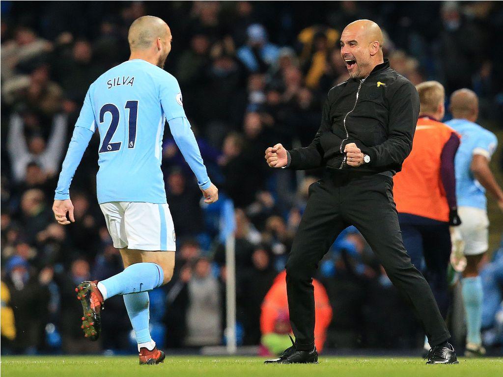 Silva: Saya Belum Lihat Pelatih seperti Guardiola