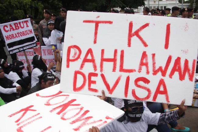 Dua TKI Melarikan Diri dari Malaysia Karena Upah Minim