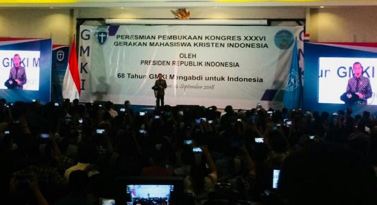 Jokowi: Mahasiswa Harus Mengikuti Perubahan Dunia