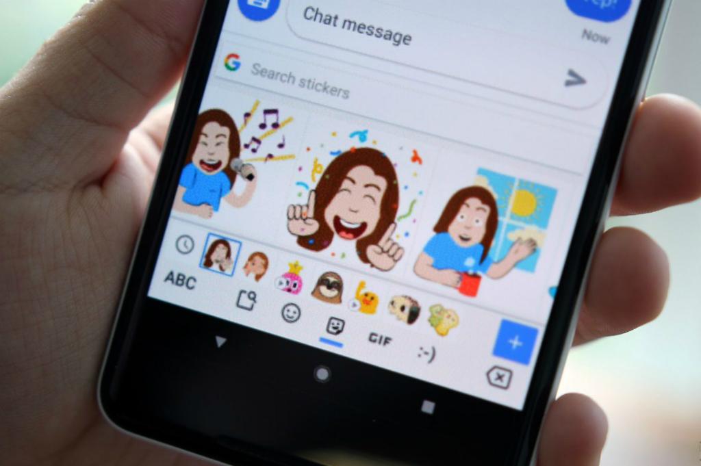 Google Luncurkan Stiker Emoji Mini di Gboard Android