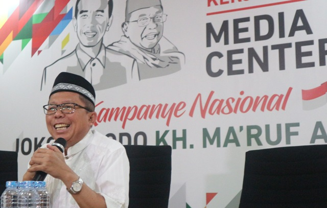TKN Jokowi-Ma'ruf tak Masalah Durasi Debat Diperpanjang