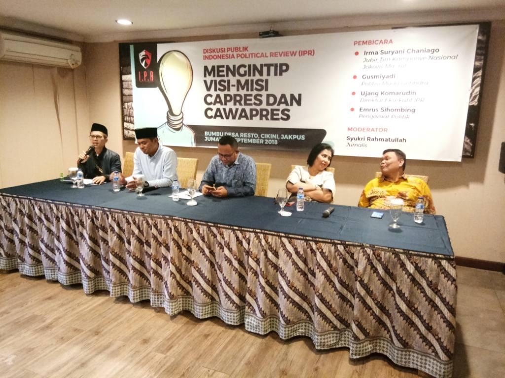 Kubu Jokowi-Ma'ruf Ogah Jual Janji