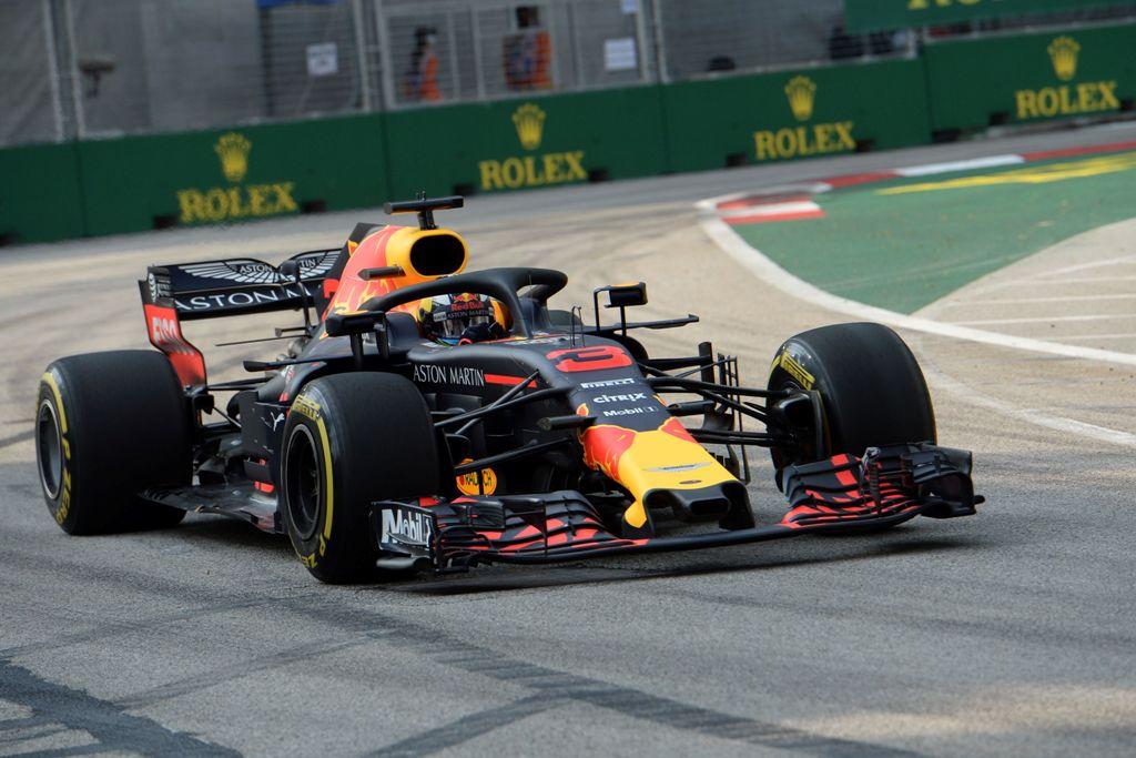 Duo Red Bull Mendominasi Latihan Bebas Pertama F1 GP Singapura