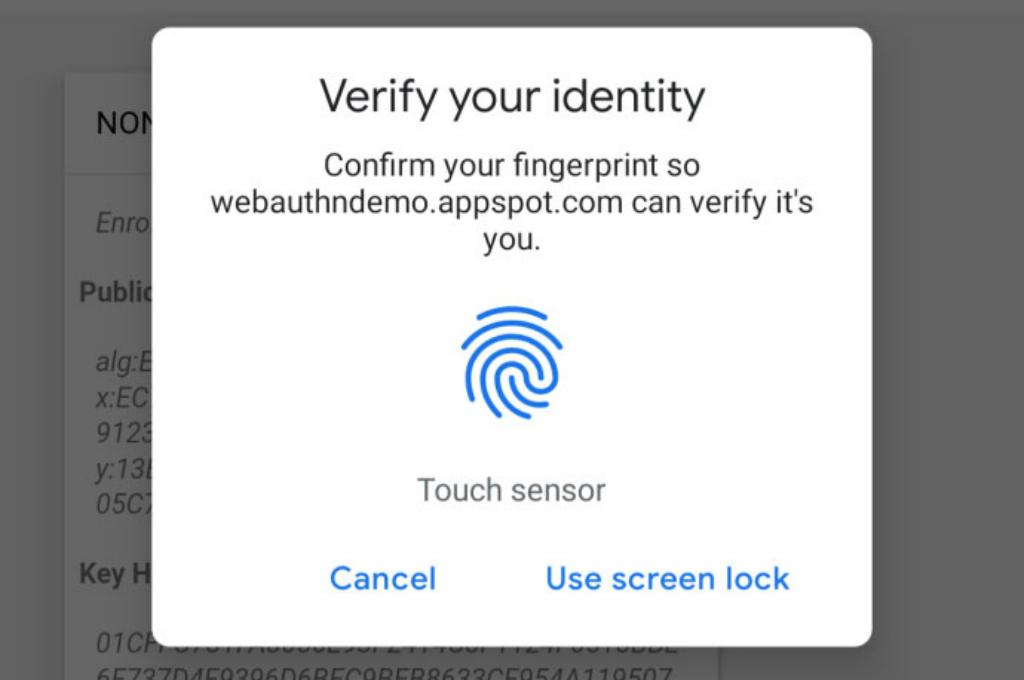Chrome Adopsi Otentikasi Sidik Jari di Android