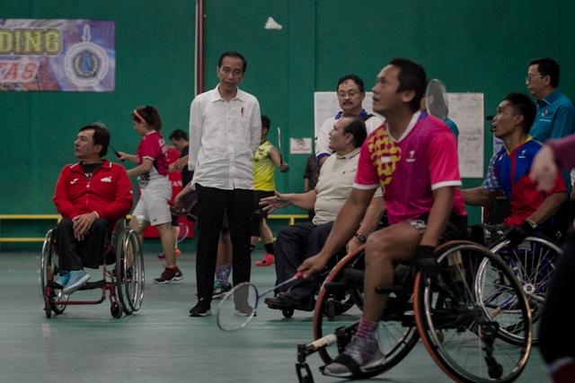 Jokowi Optimistis Target Emas di Asian Para Games Terlampaui
